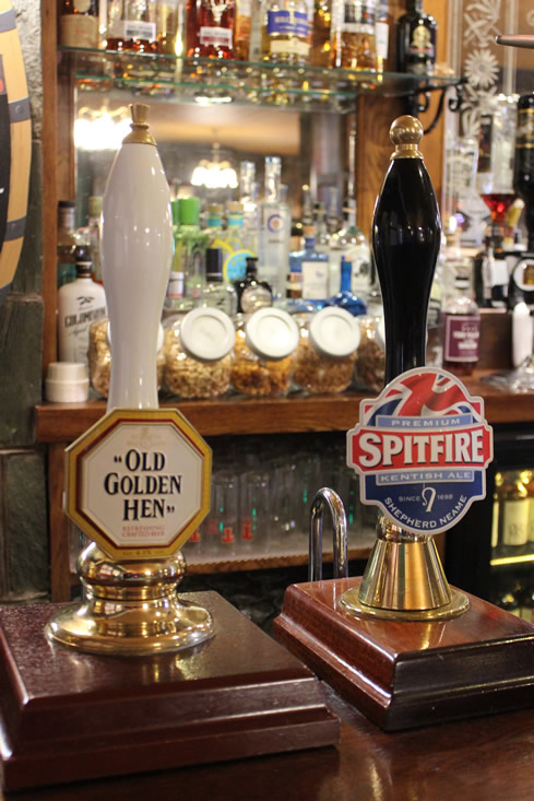 The Masonic Arms offer a wide range of draught beer